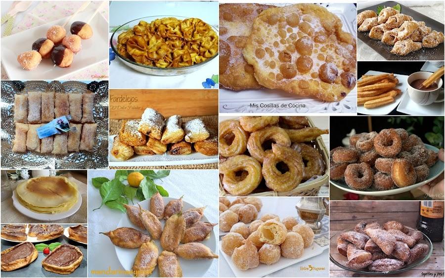 Dulces de sartén. Julia y sus recetas