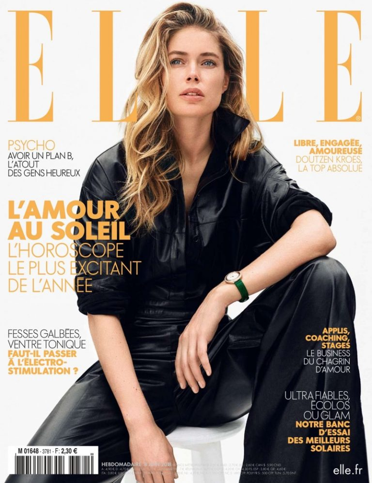 Elle France June 2018 featuring Doutzen Kroes