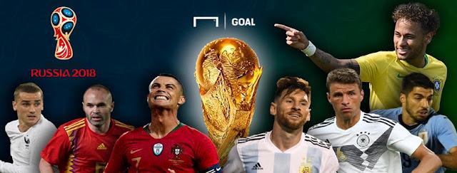 Quartas de final da Copa do Mundo da Rússia: classificados