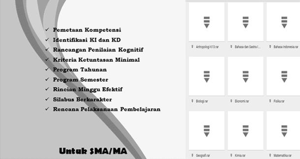 Perangkat Pembelajaran SMA MA Kurikulum 2013