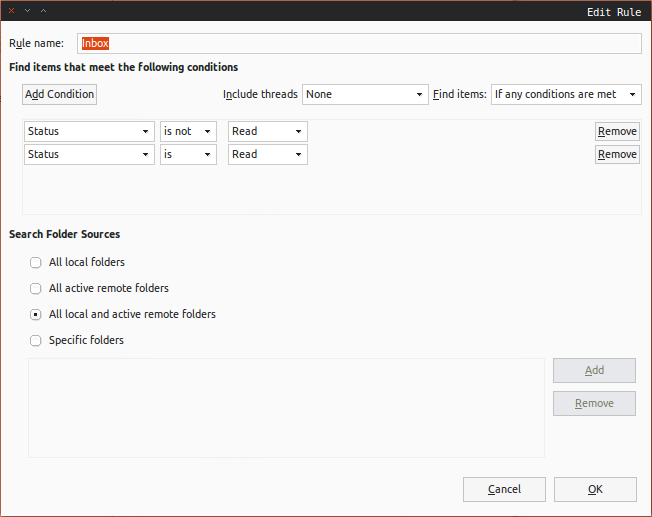 Create a Unified Inbox Folder in Evolution | SvenBit