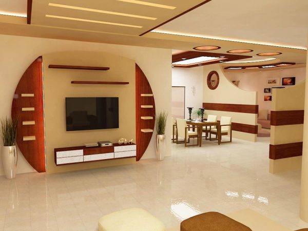 modern gypsum board for tv wall unit to inspire you decor units. Black Bedroom Furniture Sets. Home Design Ideas