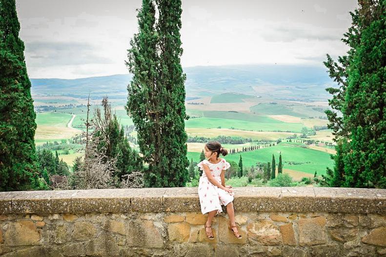 Little Girl Capsule Wardrobe for Summer Travel