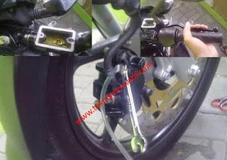 Cara Paling Mudah Dan Simpel Mengatasi Rem Cakram Motor Masuk Angin