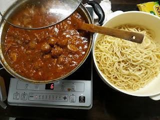 Spaghetti Bolognese Meatball Resepi Mudah