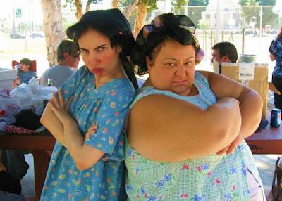 Vida Ghaffari and Gabby Sanalitro