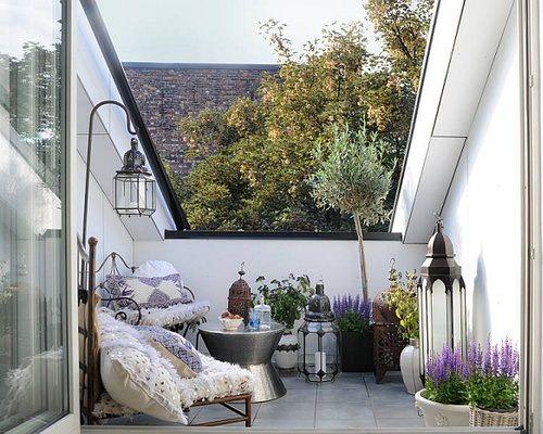 Interior relooking un balcone nel tetto for Finestra nel tetto