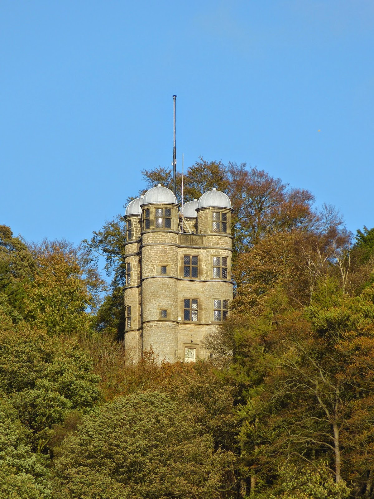 The Hunting Tower dating from the 1580s