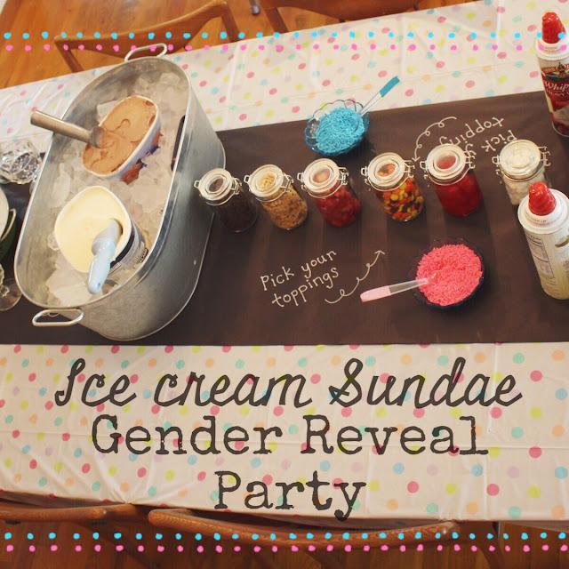 Ice Cream Gender Reveal