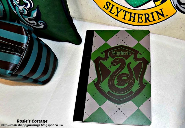 Harry Potter Slytherin House hardback notebook from Primark