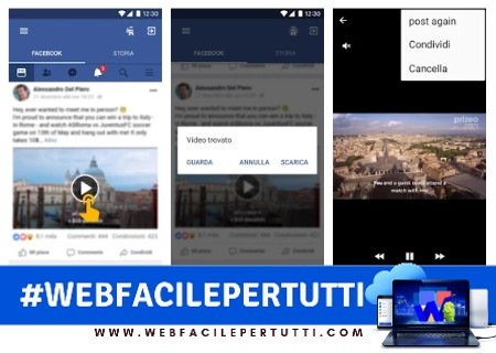 Video Downloader - Applicazione per scaricare video da Facebook