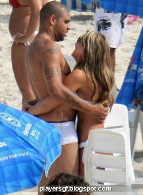 Adriano and his wife Joana Machado