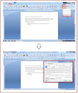 Cara Memasukan Simbol di Microsoft Office Word dan Excel