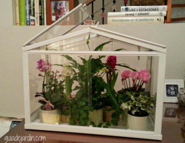 Objetos para un jard n rom ntico guia de jardin - Invernadero para casa ...