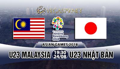 Nhận định bóng đá U23 Malaysia vs U23 Nhật Bản, 19h30 ngày 24/8