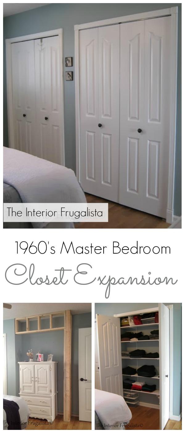 Master Bedroom Closet Expansion   The Interior Frugalista