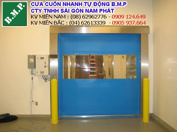 cửa cuốn nhanh nhà khu lạnh Đồng Nai