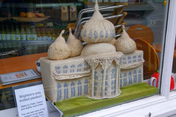 brighton royal pavilion knitted