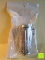 Verpackung: Li Hao Aschenbecher aus Legierung tragbar für Reise Auto-Aschenbecher