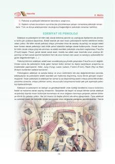 12. Sınıf Türk Dili ve Edebiyatı Dersdestek Yayınları Sayfa 14