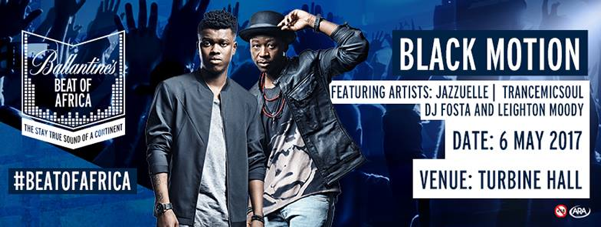 Black Motion Launch Beat of Africa on may 6