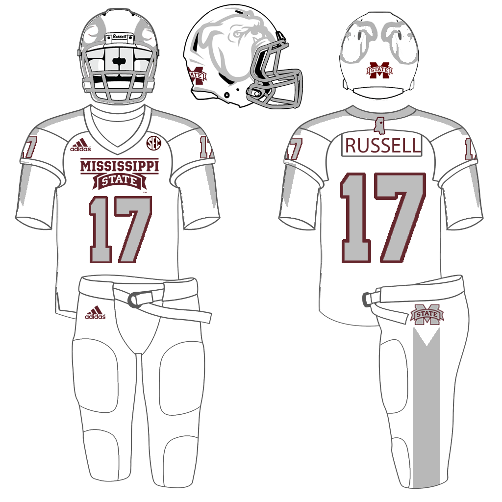 Mississippi St. Football Uniform Tracker: MSU Football