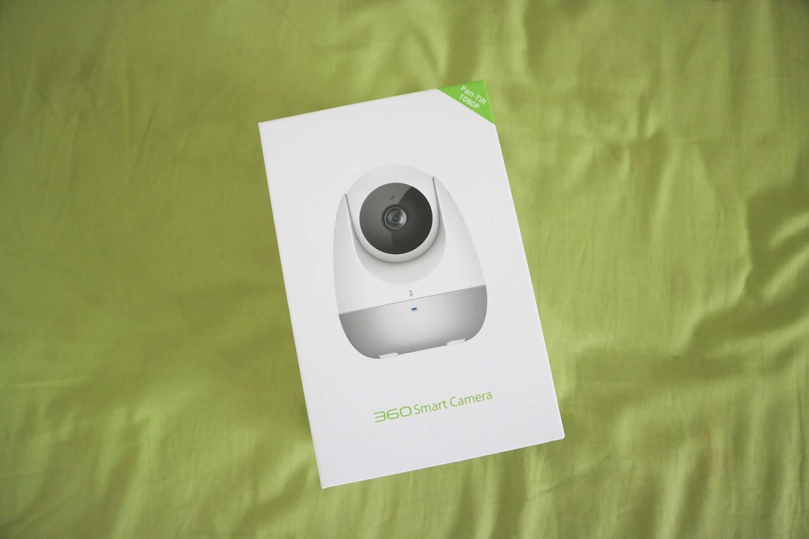 ARTSY FARTSY AVA: Review: Qihoo 360 Smart Camera with CRY