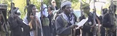 Boko Haram activities in Borno