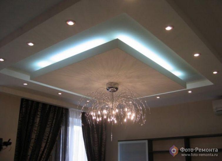 contoh model desain plafon rumah modern denah