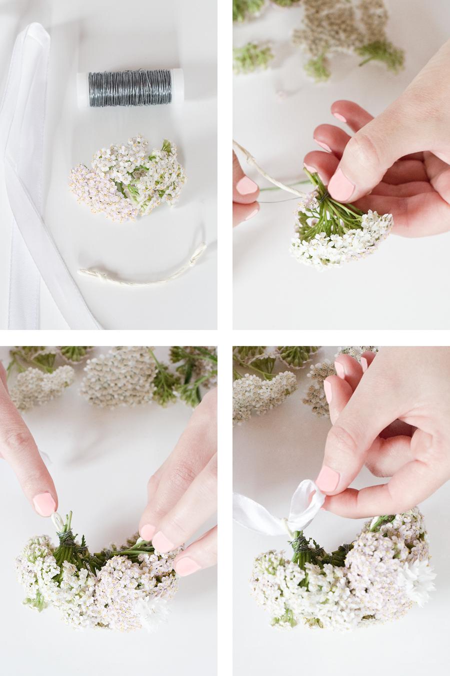 Wiesoeigentlichnicht Diy Ein Blumenarmband Statt Stylischer Uhr