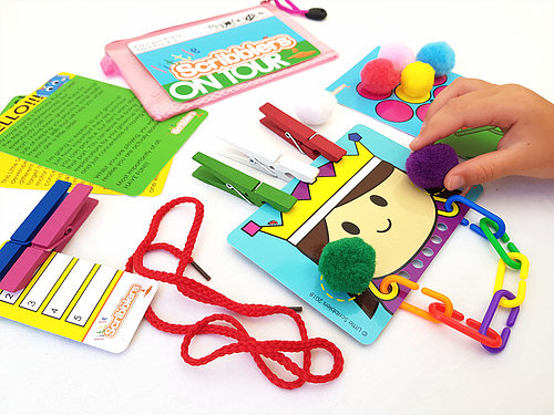 Little Scribblers World Busy Bags