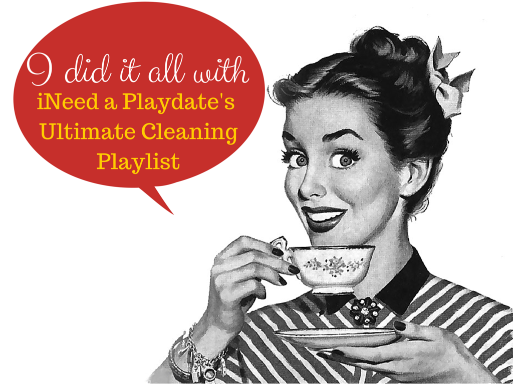 The Ultimate Cleaning Playlist from @MryJhnsn
