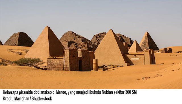 Sejarah Singkat Nubia Kuno Nenek Moyang Bangsa Mesir