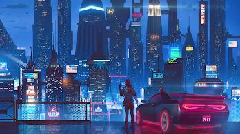 Sci-Fi, Cyberpunk, City, 4K, #108