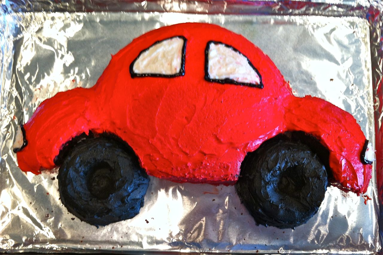 A Song Of Sixpence Car Cake