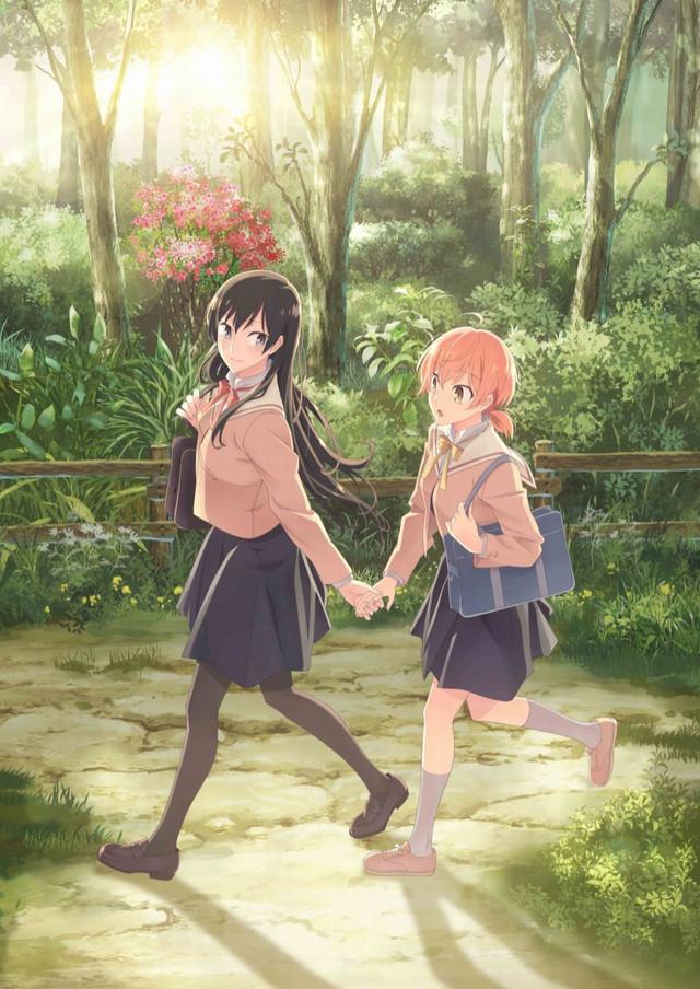 Anime yuri Yagate Kimi ni Naru: Imagen promocional