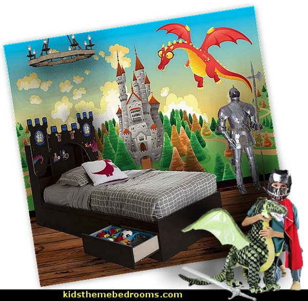Medieval Knights & Dragons decorating ideas - knights castle decor - knights and dragons theme rooms - dragon theme decor - prince decor - medieval castle wall murals - knights and dragons baby bedding - Knights Medieval bedding - dragon bedding - dragon murals - dragon themed bedroom ideas - medieval castle furniture - Prince Crown Royal Theme Princess decor