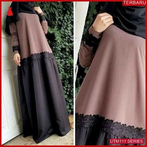 UTM111S80 Baju Sl Muslim Malaysa Dewasa Maxi UTM111S80 06F | Terbaru BMGShop