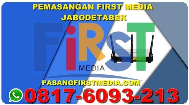 PEMASANGAN FIRST MEDIA JABODETABEK