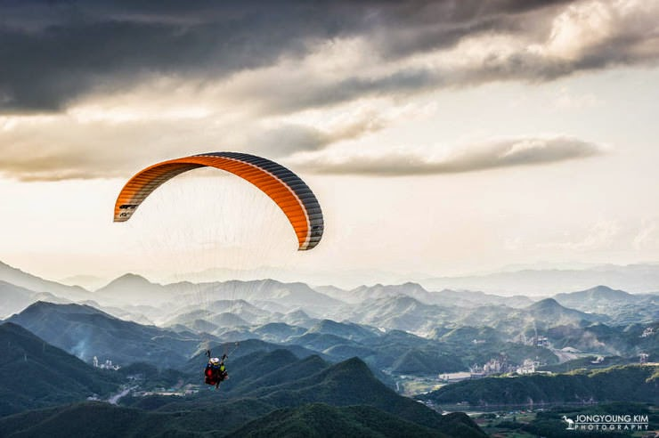 6. Danyang, South Korea - Top 10 Paragliding Sites