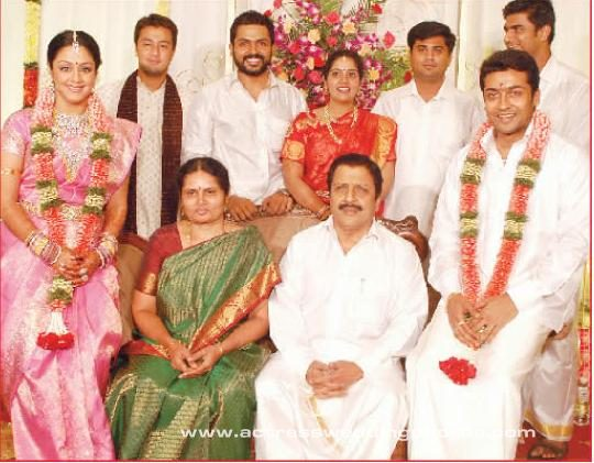Surya Jyothika Unseen Wedding Photos ~ 521 Entertainment World