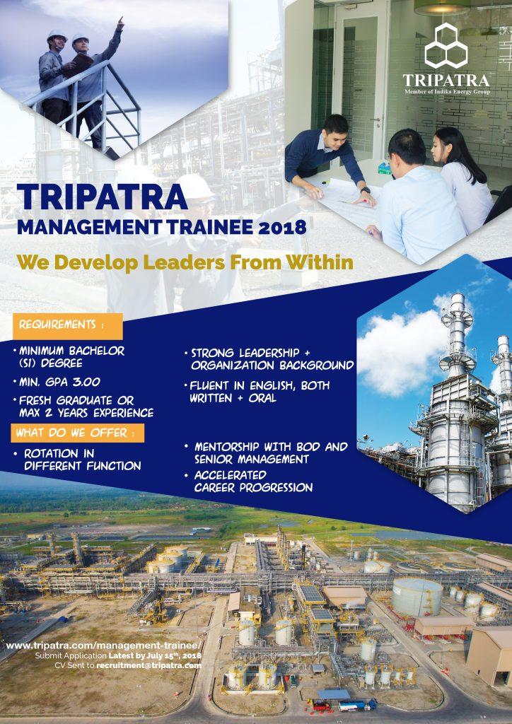 Lowongan Kerja S1 PT Tripatra Engineers and Constructors (Tripatra)