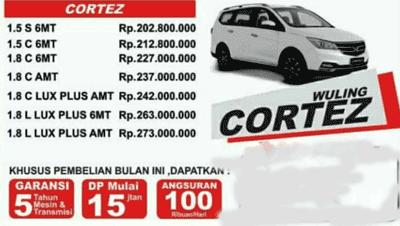 Harga Mobil Wuling Cortez di Semarang