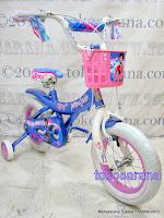 Sepeda Anak Wimcycle Tiffany 12 Inci