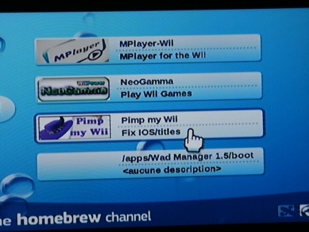 pimp my wii derniere version