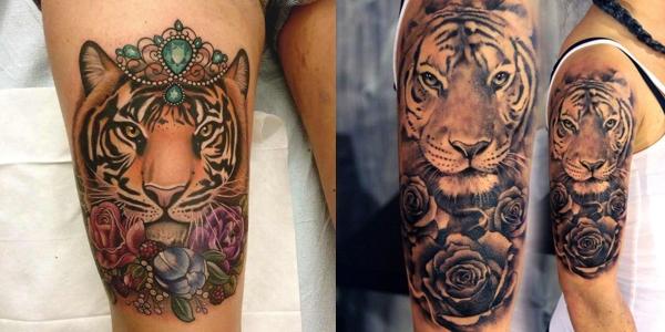 Mytattoolandcom Tiger Tattoos For Women