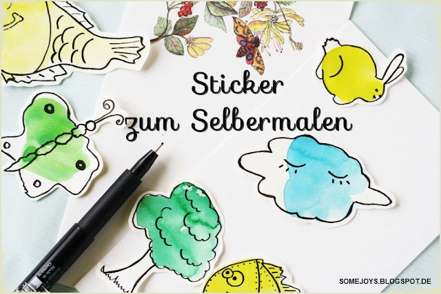 DIY Sticker selber machen Some Joys Blog