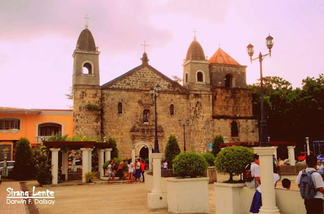 Tigbauan Church is a tourist spot in Ilo-Ilo.