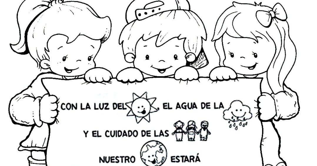 Recursos Para Educación Inicial Dibujos Para El Día Del Medio