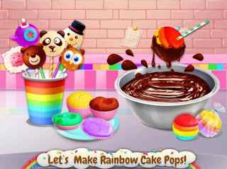 Game Rainbow Desserts Bakery Party App